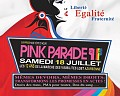 Pink Parade 2015 : Le programme